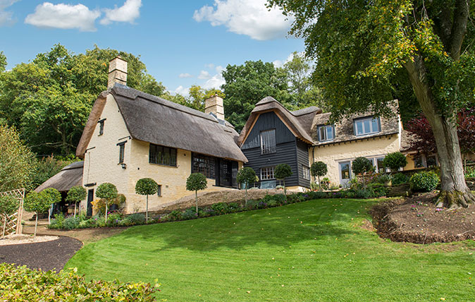 The Thatched House, near Sapperton in the Cotswolds