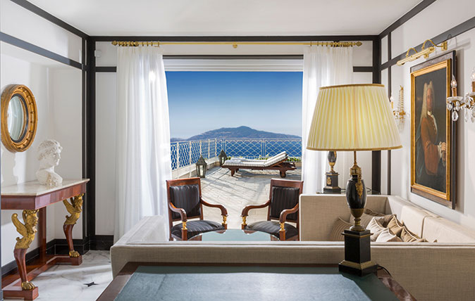 Capri Palace Hotel >> Capri Palace Hotel Review A Calm Discreet And Stylish Oasis From