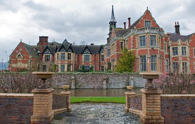 Madresfield Court near Malvern in Worcestershire