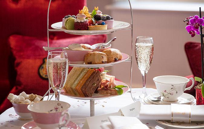 Royal afternoon tea at the Royal Horseguards Hotel