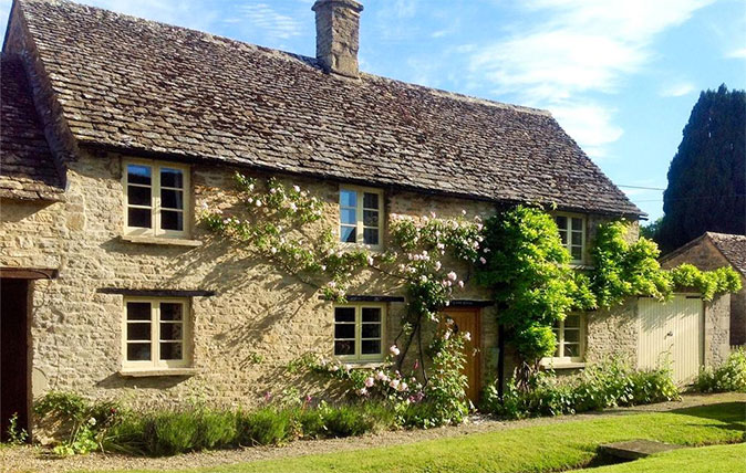 Lovell Cottage has plenty of Cotswold charm