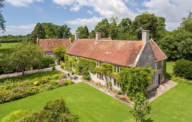 Lottisham Manor near Glastonbury (Strutt & Parker)