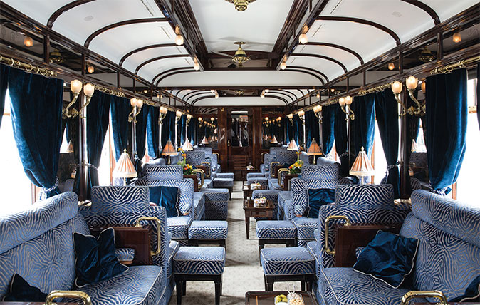 Orient Express - the bar car