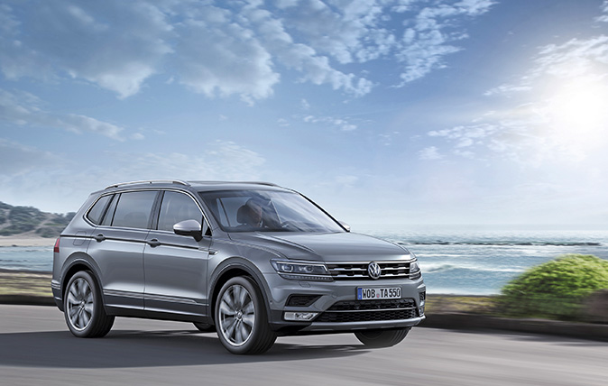 volkswagen tiguan allspace review 39 it s spacious easy to. Black Bedroom Furniture Sets. Home Design Ideas