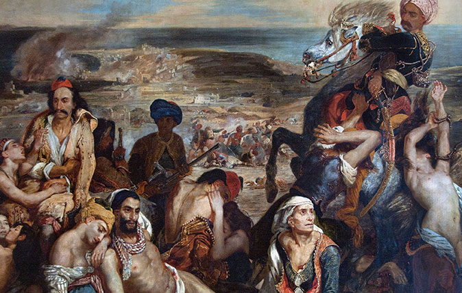 The Massacre at Chios (1824) by Eugene Delacroix (Photographed by Peter Horree / Alamy)