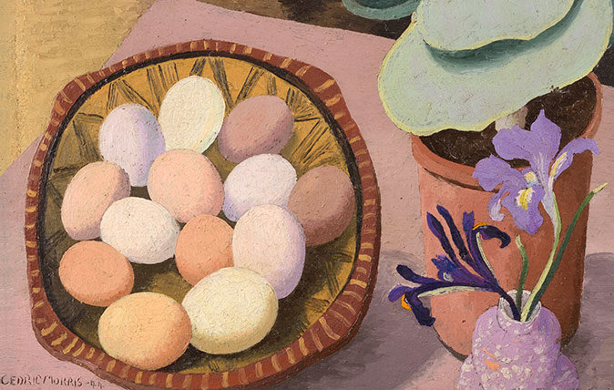 Cotyledon and Eggs, 1944 by Cedric Morris