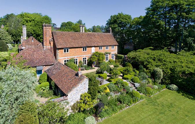 Abbotts Barton Farmhouse, at Abbotts Barton, on the northern edge of Winchester