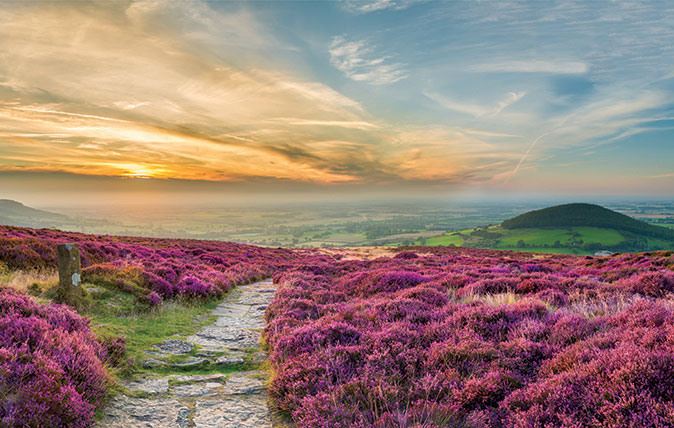 The North York Moors: Alive with adventure, from enchanting forests to castles, beaches and gardens