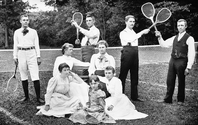 Tennis in the 1890s