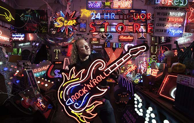 Marcus Bracey of www.godsownjunkyard.co.uk. Photographed by Richard Cannon © Country Life Picture Library