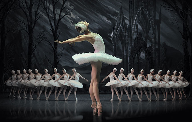 St Petersburg Ballet's production of Swan Lake
