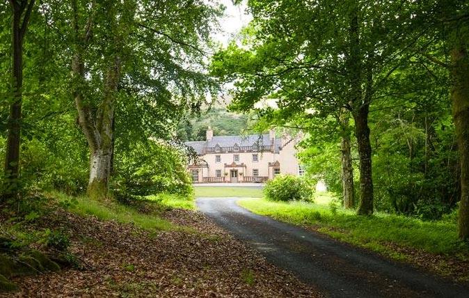 Walter Scott's home, Ashiestiel – aka Ashestiel and Ashiesteel – near Selkirk