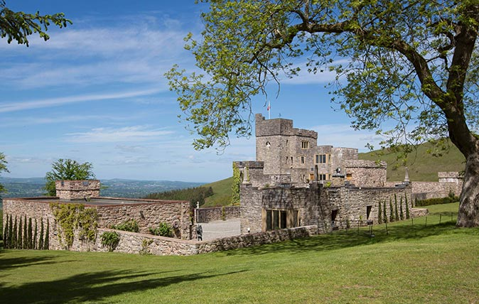 Castell Gyrn - architect John Taylor's north Wales castle built in the 20th century