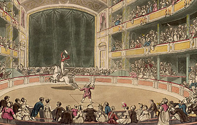Astleys Amphitheatre - the original circus