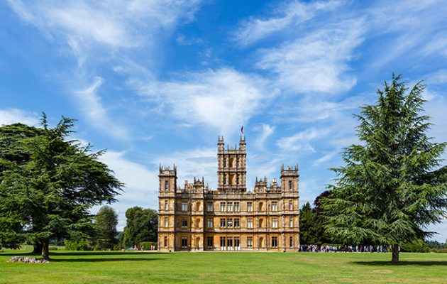 The Skies Over Highclere Castle Berkshire Will Be Criss Crossed With Vapour Trails On September 8 9 When Planes Old And New Take Off For Heroes At