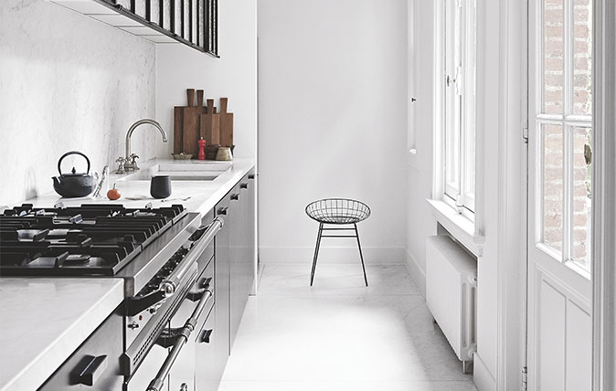 Six tips to make the most of a galley kitchen & Six tips to make the most of a galley kitchen - Country Life