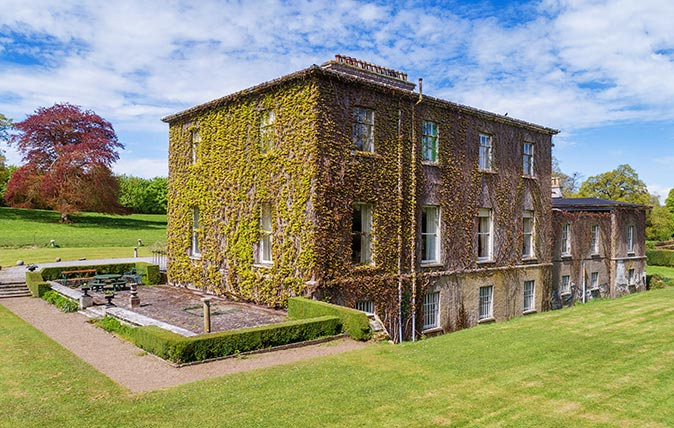 Milford House in County Carlow (Pic: Knight Frank)