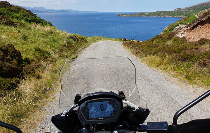 Across Scotland by motorbike: The wonders of Raasay, and the joys of Calum's Road