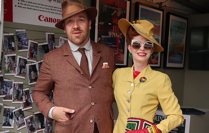 Country Life's best-dressed competition at the Goodwood Revival
