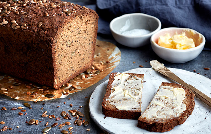 Rose Lloyd Owen's cauliflower multi-seed bread