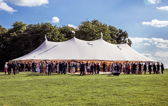 Hetty Lintell wedding marquee