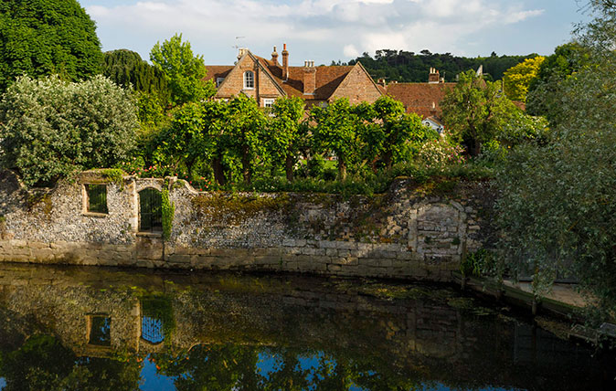 Watergate House in Fordwich, Kent