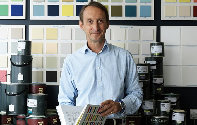 Patrick Baty of Papers and Paints