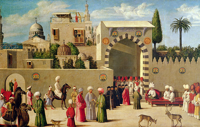 The Reception of a Venetian Delegation in Damascus