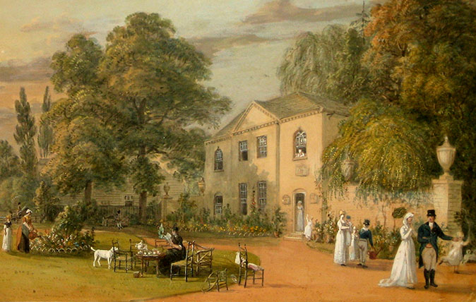 A British countryside image by Paul Sandby RA, courtesy of the Nottingham City Museums & Galleries