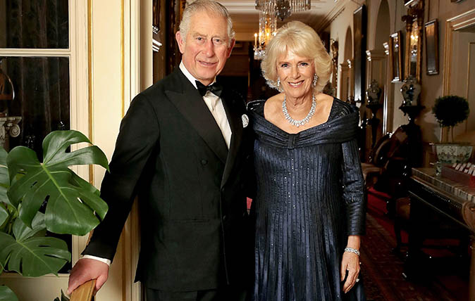 HRH Prince Charles, Prince of Wales and Camilla, Duchess of Cornwall pose for a photograph at Clarence House before leaving for an event to celebrate the prince's 70th Birthday hosted by Queen Elizabeth II at Buckingham Palace, on November 14, 2018 in London, United Kingdom. (Photo by Chris Jackson/Clarence House via Getty Images)