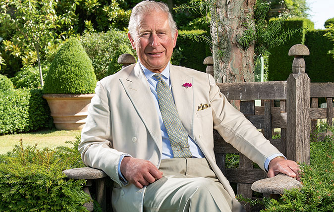 HRH The Prince of Wales, photographed by John Paul for the Country Life Picture Library