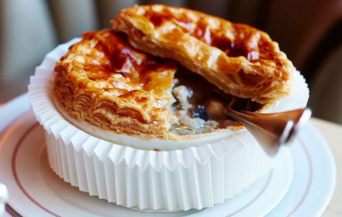 A perfect chicken pie recipe for the cold, dark nights ahead