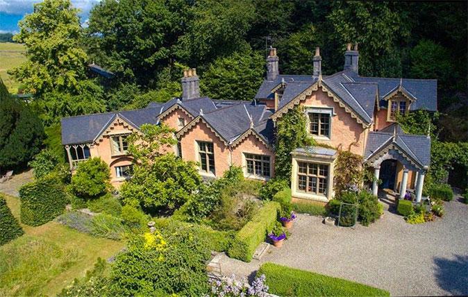 Eller How - family home of George Webster