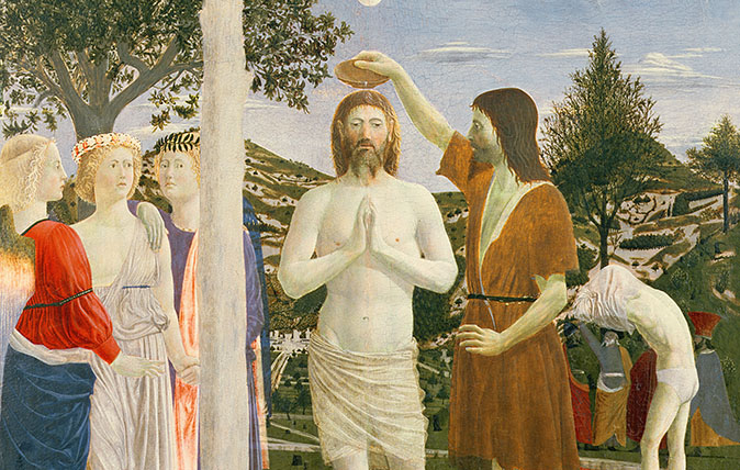 Baptism of Christ, 1450 (egg tempera on panel)