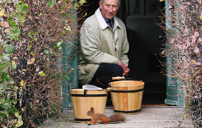 The Prince of Wales in Cumbria
