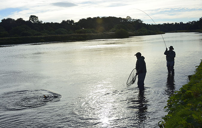 Fishing on The River Tweed