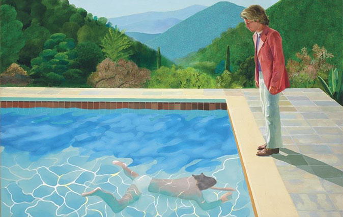 David Hockney's iconicPortrait of an Artist (Pool with Two Figures)