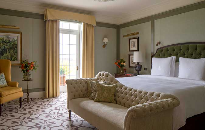 Royal Suite at the Four Seasons Hampshire