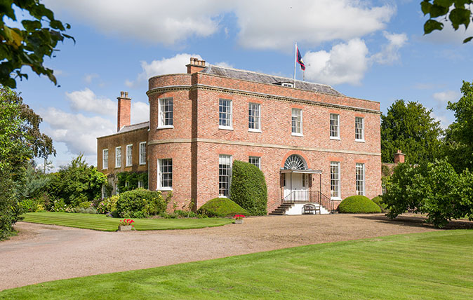 Ripple Hall in Worcestershire