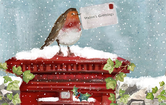 Christmas Picture Cards.24 Of The Of Most Beautiful Charity Christmas Cards To Send
