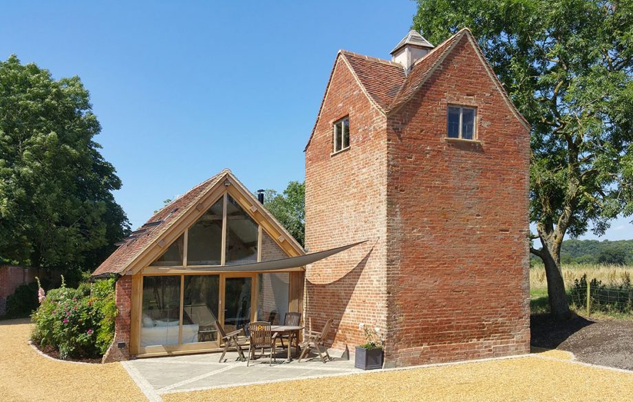 The cart shed and dovecote turned cottage