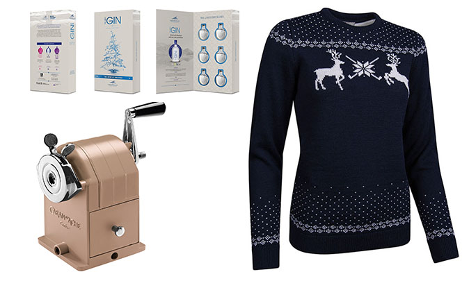 The utterly inessential shopping list: Christmas jumpers for two, and a rare chance to witness the £210 pencil sharpener