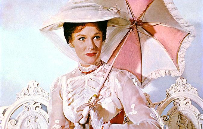 MARY POPPINS 1964 Disney film starring Julie Andrews