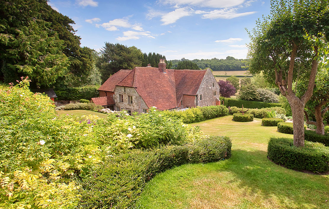 A perfectly-preserved home on an ancient stretch of land in one of the prettiest spots in Wiltshire
