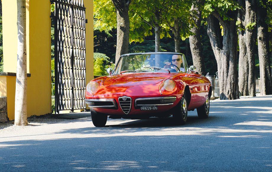 An original Alfa Romeo Spider