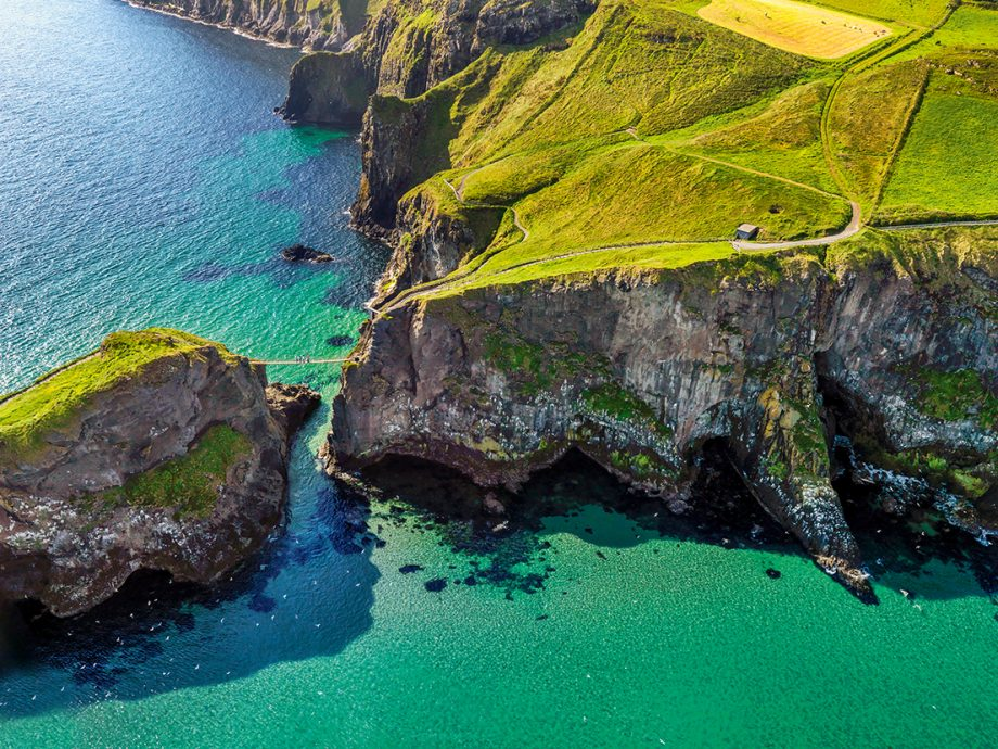 The rope bridge of your dreams? Carrick a Rede, County Antrim