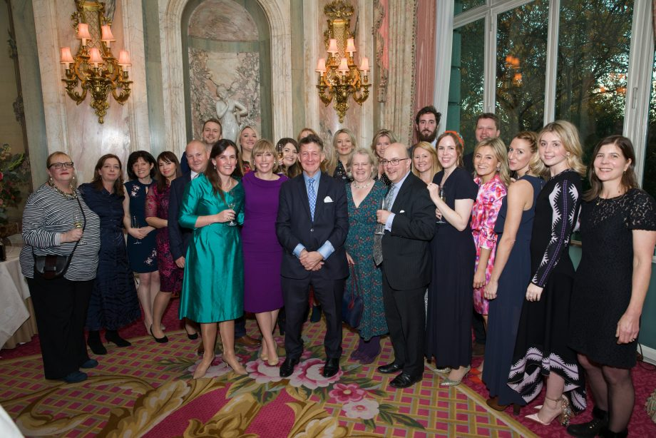 Country Life Prince Charles Guest Edit Party at The Ritz, London