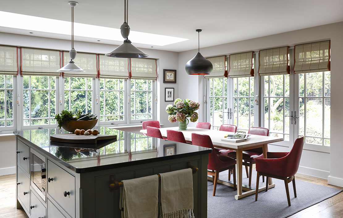 How to transform a dark Victorian kitchen into a charming social space with bespoke joinery