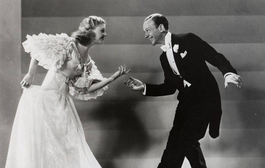 TOP HAT 1935 RKO musical with Ginger Rogers and Fred Astaire