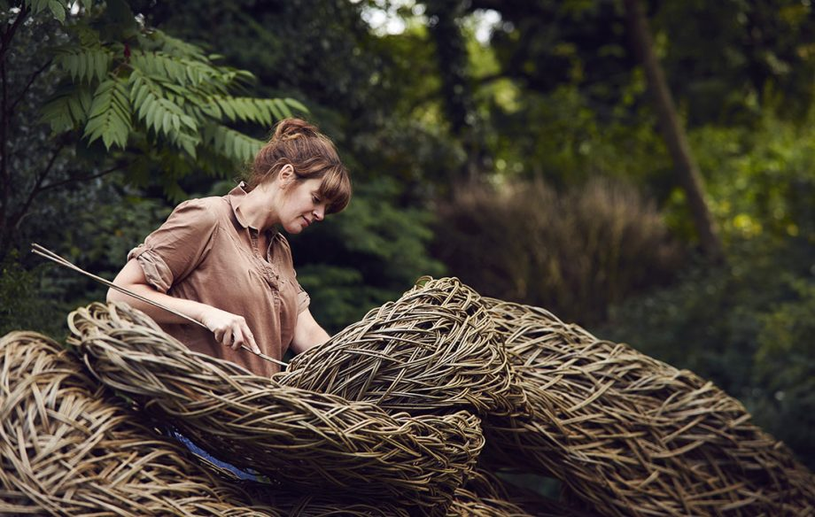 Sculptor Laura Ellen Bacon photographed by Alun Callender